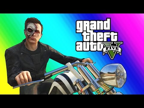 Thumbnail: GTA 5 Online Funny Moments - The Terminator & FIB Slasher!