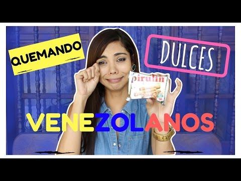 El PIRULIN Es PLASTICO!!!!!? QUEMANDO DULCES VENEZOLANOS | Carli