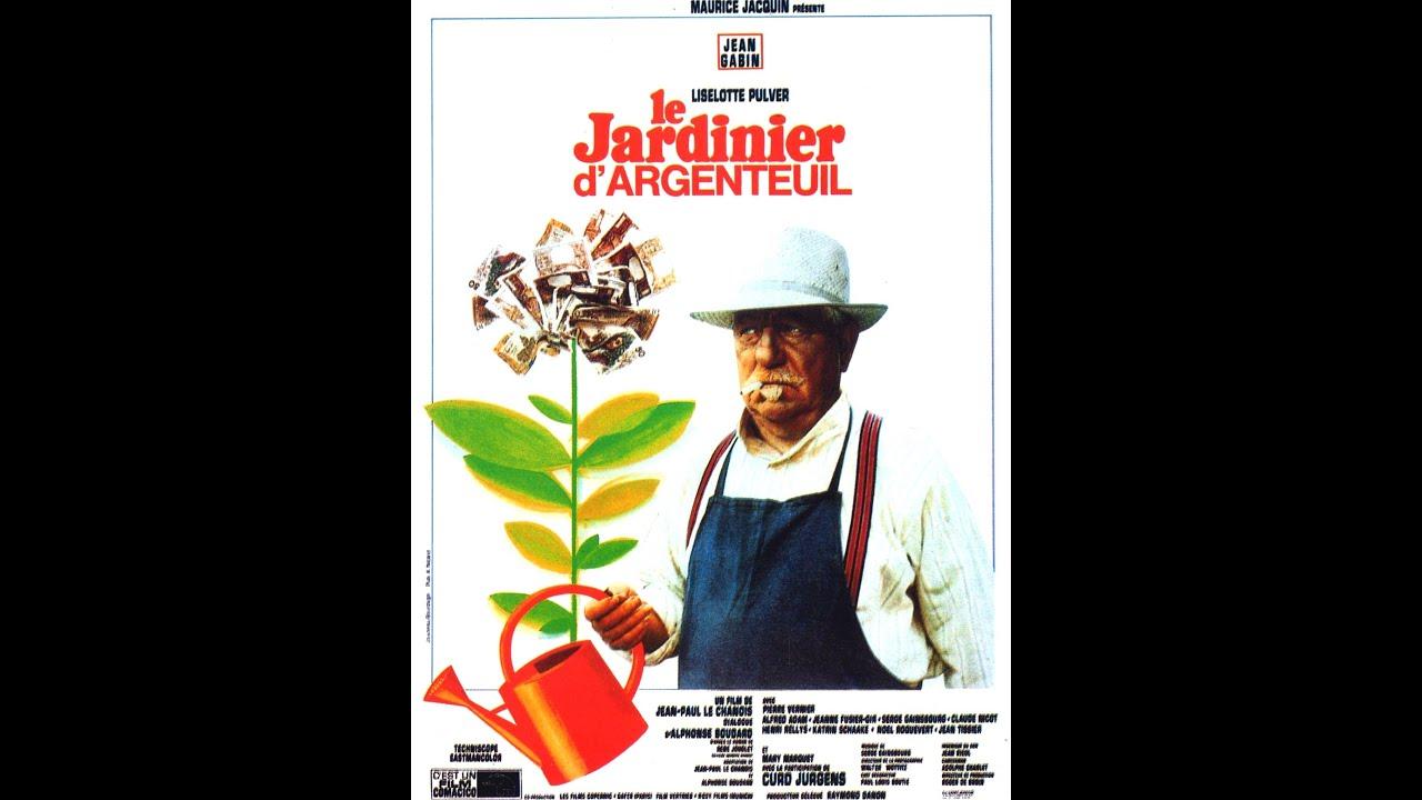 Le jardinier d 39 argenteuil film complet 1966 jean gabin for Le jardinier