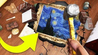 FINDING A $56,000 PAINTING IN MY BASEMENT! - House Flipper