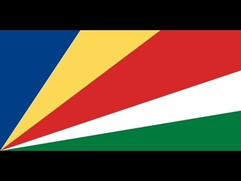 Флаг Сейшельских Островов.
