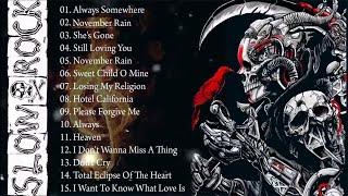 Scorpions, U2, Led Zeppelin, Bon Jovi, Aerosmith, Eagles - Greatest Slow Rock Ballads 80s, 90s