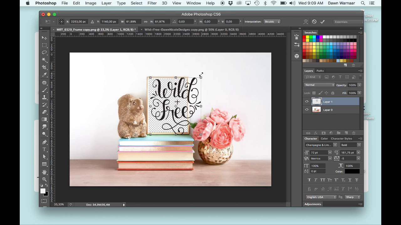 how to use graphic design mockups youtube