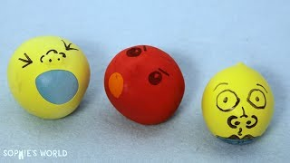How to Make a Sand Filled Stress Ball | Sophie