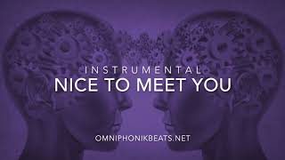 nice to meet you - instrumental // rnb/soul chill trap beat