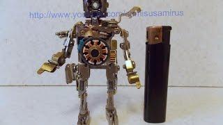 Как сделать робота №2 (сувениры)(Как сделать простого робота из разной мелочёвки и запчастей розеток и выключателей- да просто смотри видео..., 2015-08-30T13:55:04.000Z)