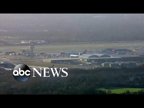 Drones shut down London airport