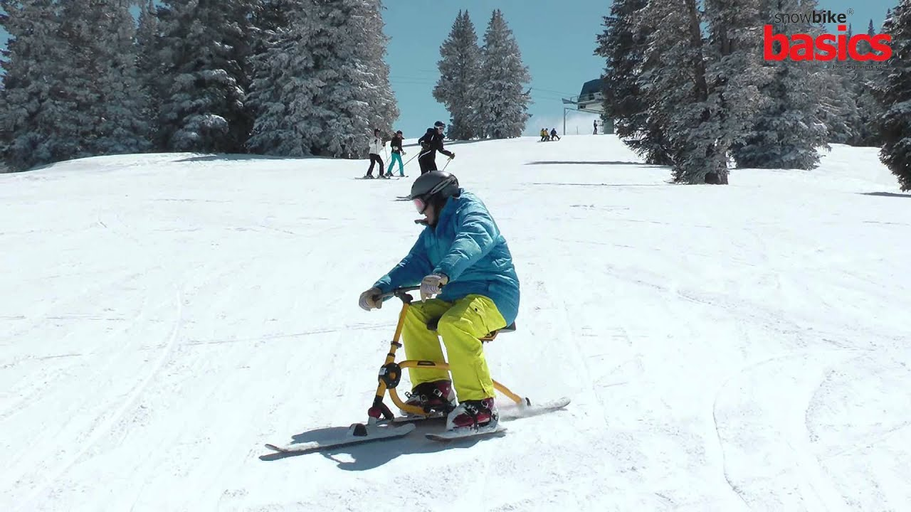 Snowbike Basics How To Ride Youtube