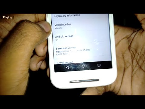 How To Install Android 5.1 on MOTO E (1st Gen)