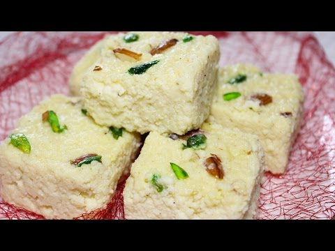 Kalakand Recipe | Instant Milk Cake Dessert Recipe | Best Indian Sweets | Kanak's Kitchen