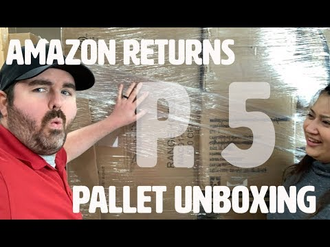 Liquidation Unboxing / Amazon Customer Return Pallets / The Family Flips