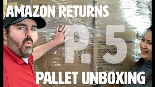 Part 5: We paid $8500 for a Truckload of Amazon Return Pallets