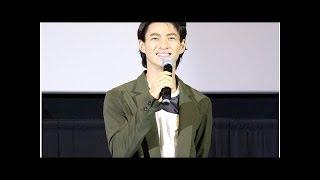 キンプリ平野紫耀:初の主演映画で地元・愛知に凱旋 笑顔で「ただいま!」