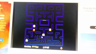Pacman Online Game Gameplay On Y8 from Namco Video Game Pacman