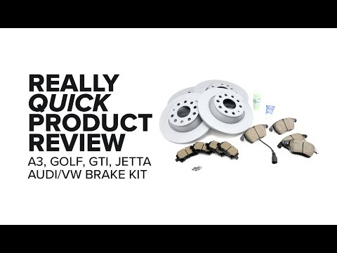 Audi/VW (A3, Jetta, Passat, Golf & More) Brake Kit - Fitment, Benefits, and Product Review