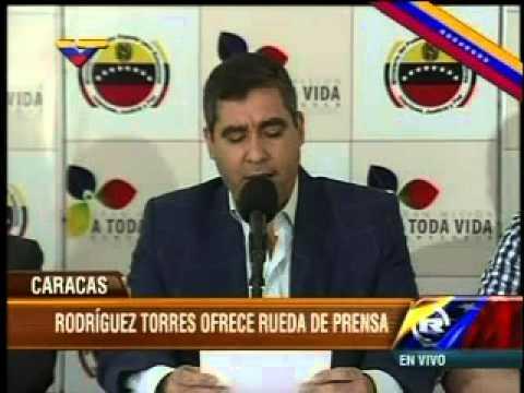 Miguel Rodríguez Torres sobre muerte de Robert Serra