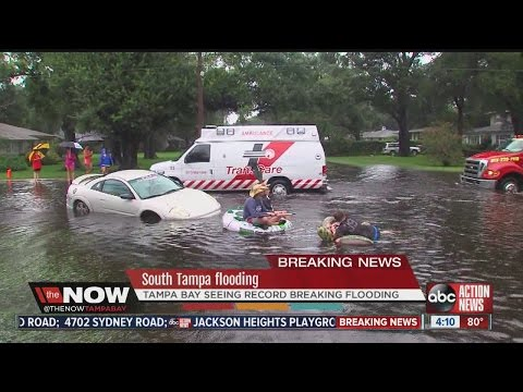 South Tampa see some of the worst flooding ever