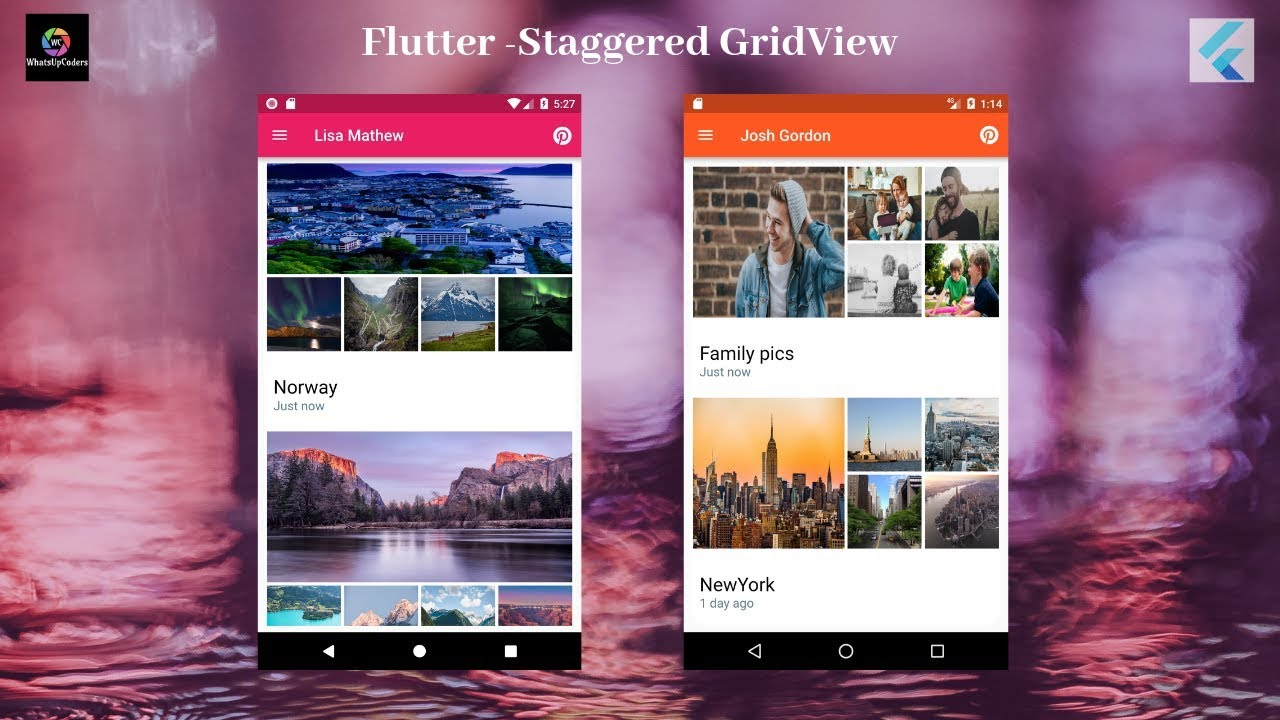 Flutter Tutorial - Flutter Staggered Grid View