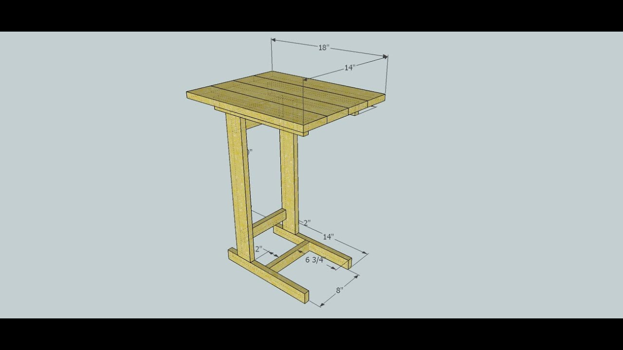 Beau Kreg Jig Project Build   Couch Table Preview