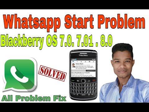 How to Solve Whatsapp problem in Blackberry phone 2017 fix whatsapp problem Hindi