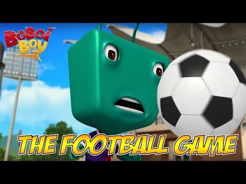 BoBoiBoy (English) S2E4 - The Football Game