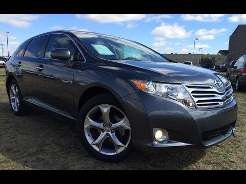 Superior Pre Owned Dark Grey 2010 Toyota Venza V6 AWD In Depth Review | Athabasca  Alberta