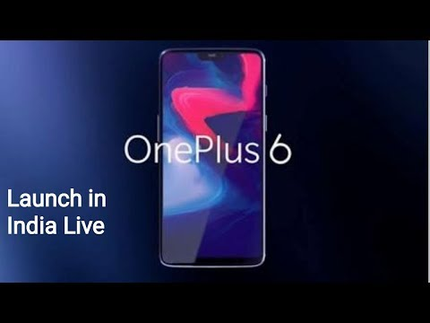 OnePlus 6 Launch Event Live India | LIVE STREAM
