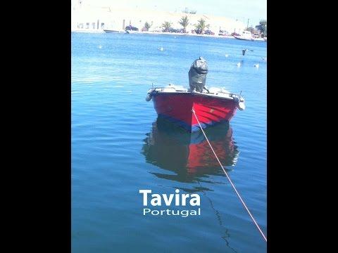 Tavira, Portugal and the unspoilt beaches of Ilha de Tavira.