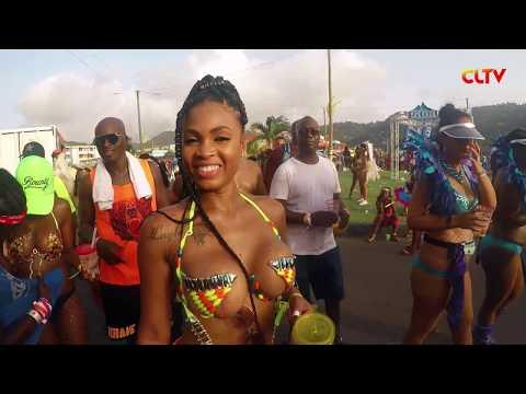 St. Lucia Carnival Monday - CLTV