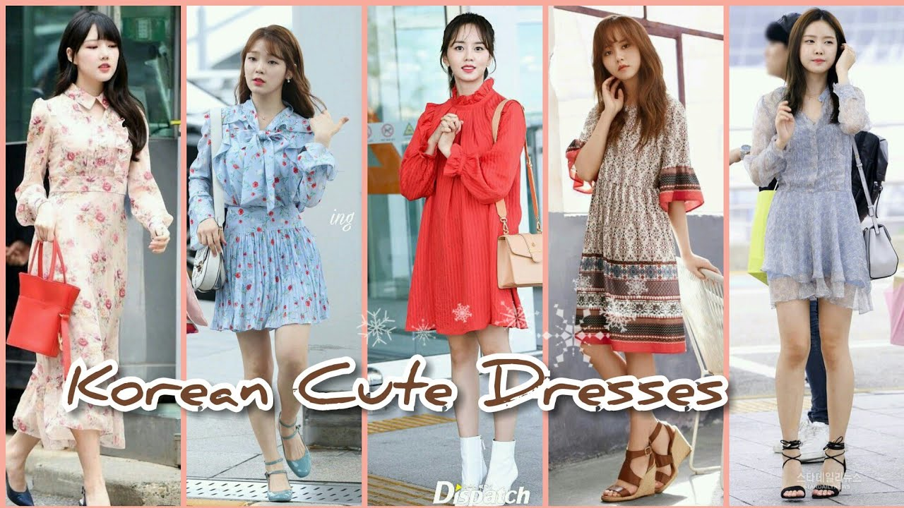 KOREAN FASHION: CUTE DRESSES IDEAS
