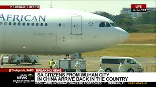 South Africans repatriated from China arrive at Polokwane Gateway Airport