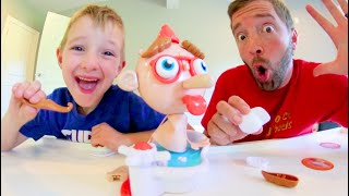 Father & Son PLAY MR. POP! / Don't Let Him Explode!