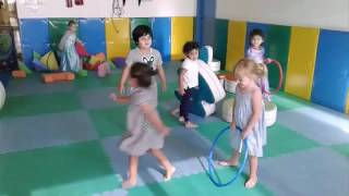 Gross motor development during gym time at Blossom