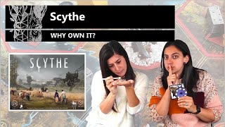 Scythe - Why Own It? Mechanics \u0026 Theme Board Game Review (feat. Amy's painted miniatures!)