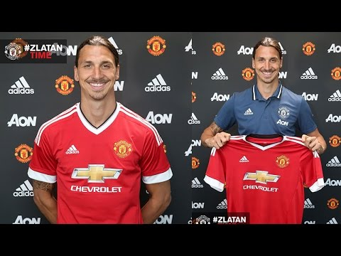 OFFICIAL ZLATAN IBRAHIMOVIC SIGNS FOR MANCHESTER UNITED F.C.