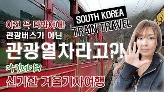 [강원도겨울여행]강원도 오지 겨울기차여행 O-Train…