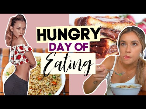 What I Eat In A Day *HUNGRY edition*