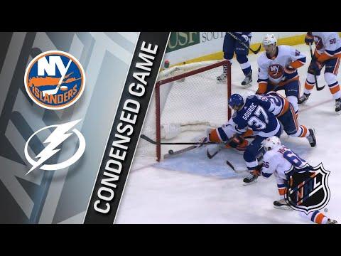 Обзор матча «Тампа-Бэй Лайтнинг» — «Нью-Йорк Айлендерс»