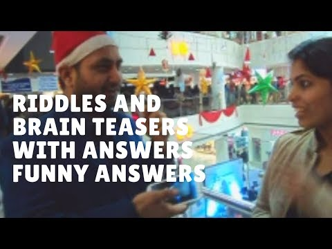 Riddles and Brain Teasers with Answers Funny | Christmas Special Part 2