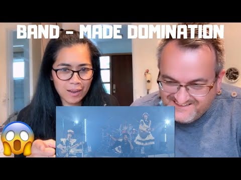 🇩🇰NielsensTv FIRST REACTION TO 🇯🇵BAND-MAID - DOMINATION😱