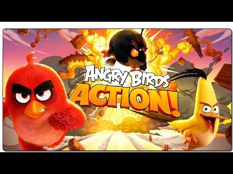 JUEGOS GRATIS ANDROID 2016 | ANGRY BIRDS ACTION | GAMEPLAY ESPAÑOL + DESCARGAR JUEGO FREE