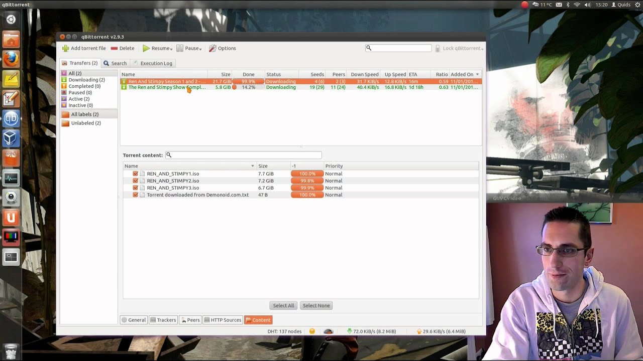 qBitTorrent - Review of Torrent Client for Linux / FreeBSD / Mac / Windows