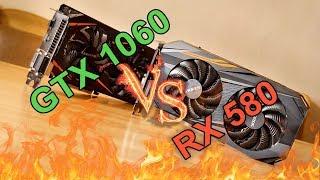 GTX 1060 vs RX 580 !!