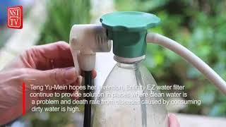 For safe, clean water