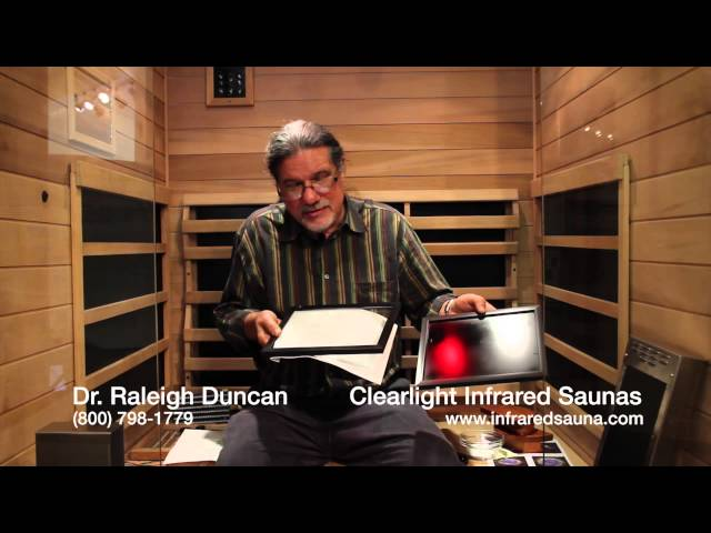 Dr. Duncan explains the concept of infrared emissivity and how it relates to infrared heaters.