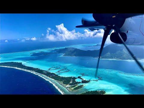 Air Tahiti 🇵🇫 Bora Bora (BOB) - Tahiti (PPT) Papeete, ATR 72-600 [FLIGHT REPORT] French Polynesia