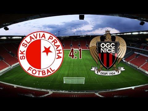 FRIENDLY MATCH | SK Slavia Praha - OGC Nice | 4:1 | 16.7.2017