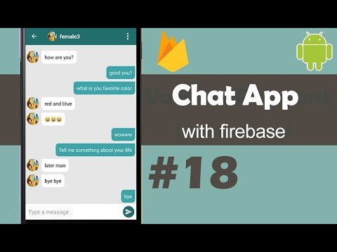 Chat App With Firebase Part 18 - Sending Notifications - Android Studio Tutorial