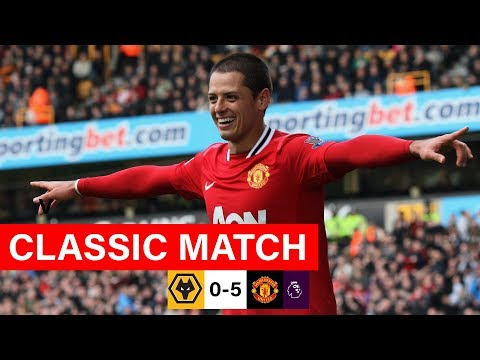 MUFC Classics   Chicharito & Welbeck Sink Wolves   Wolves 0-5 Manchester United (2011/12)