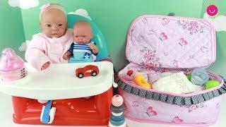 Bolso de Invierno para Lindea y Ben mis muñecos bebés Reborn